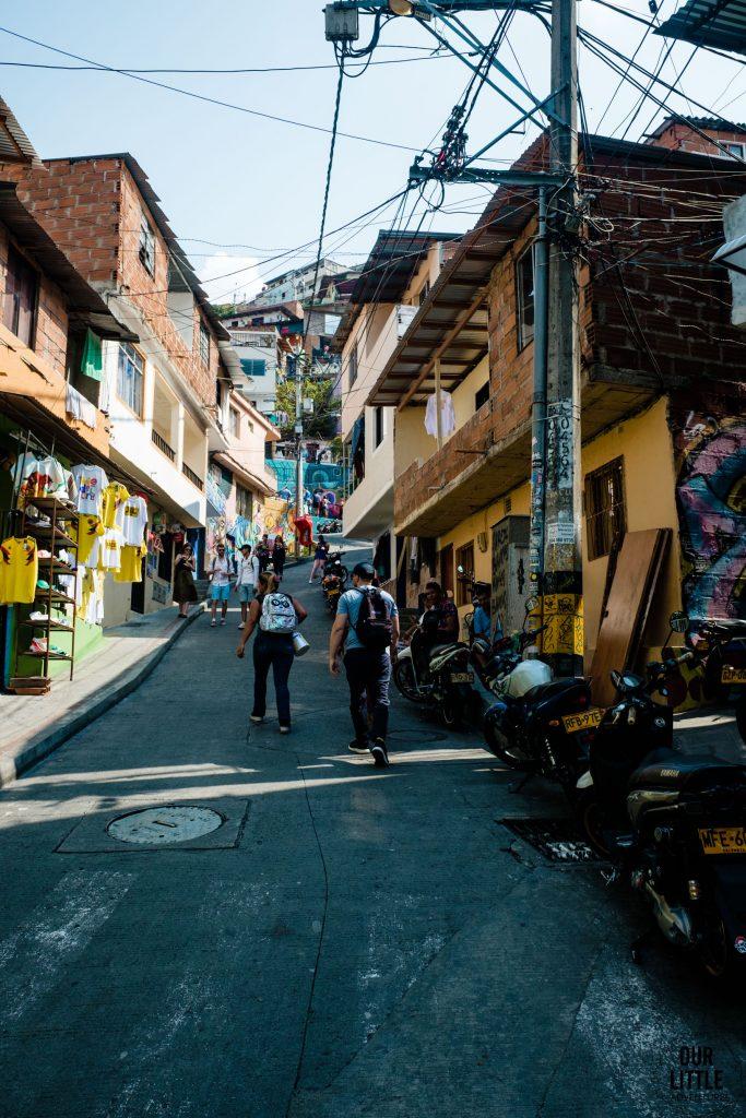 Ulice 13 dzielnicy w Medellin