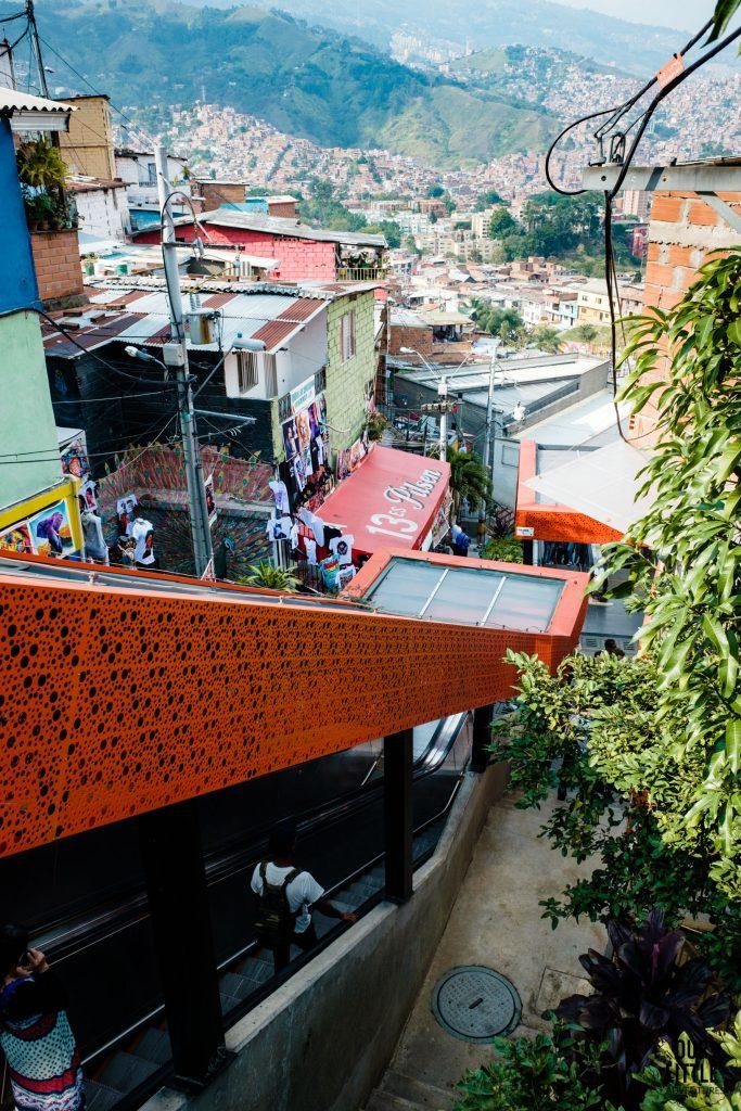 Ruchome schody Medellin