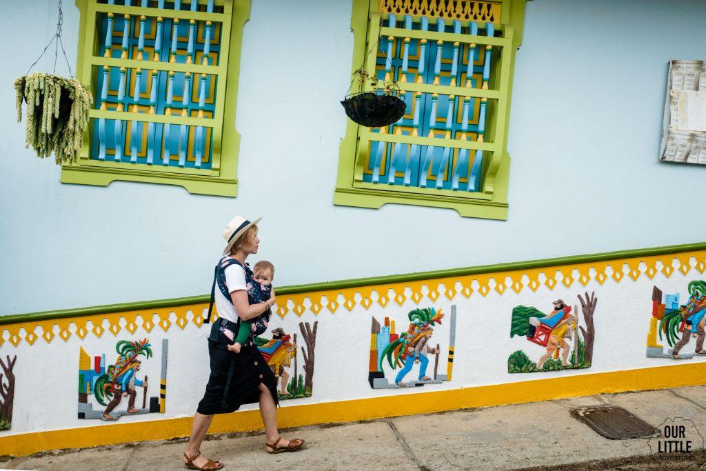 Kolorowe miasto Guatape