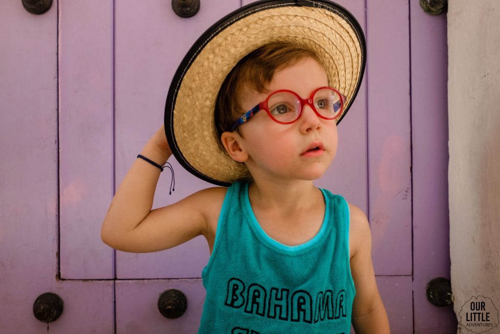 Jasio w słomkowym kapeluszu w Cartagenie