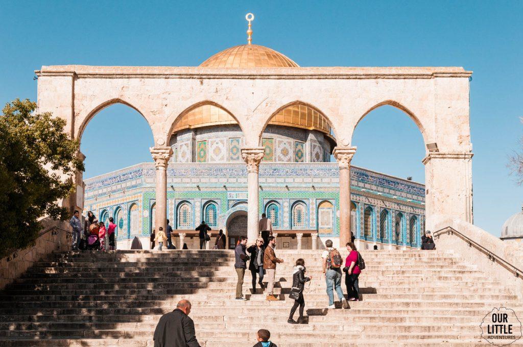 Wejście do Kopuły na Skale w Jerozolimie