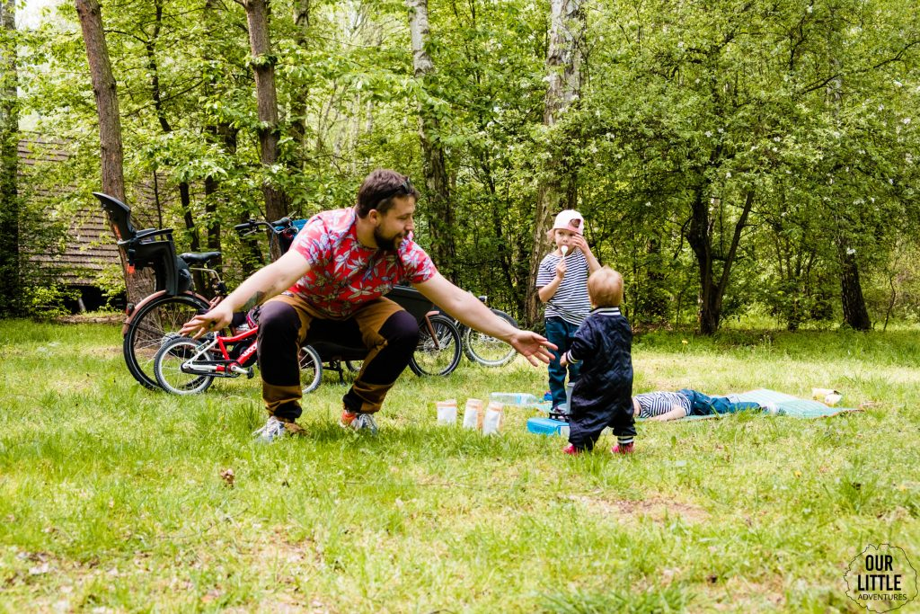 Rowerowy piknik w Parku Babie Doły