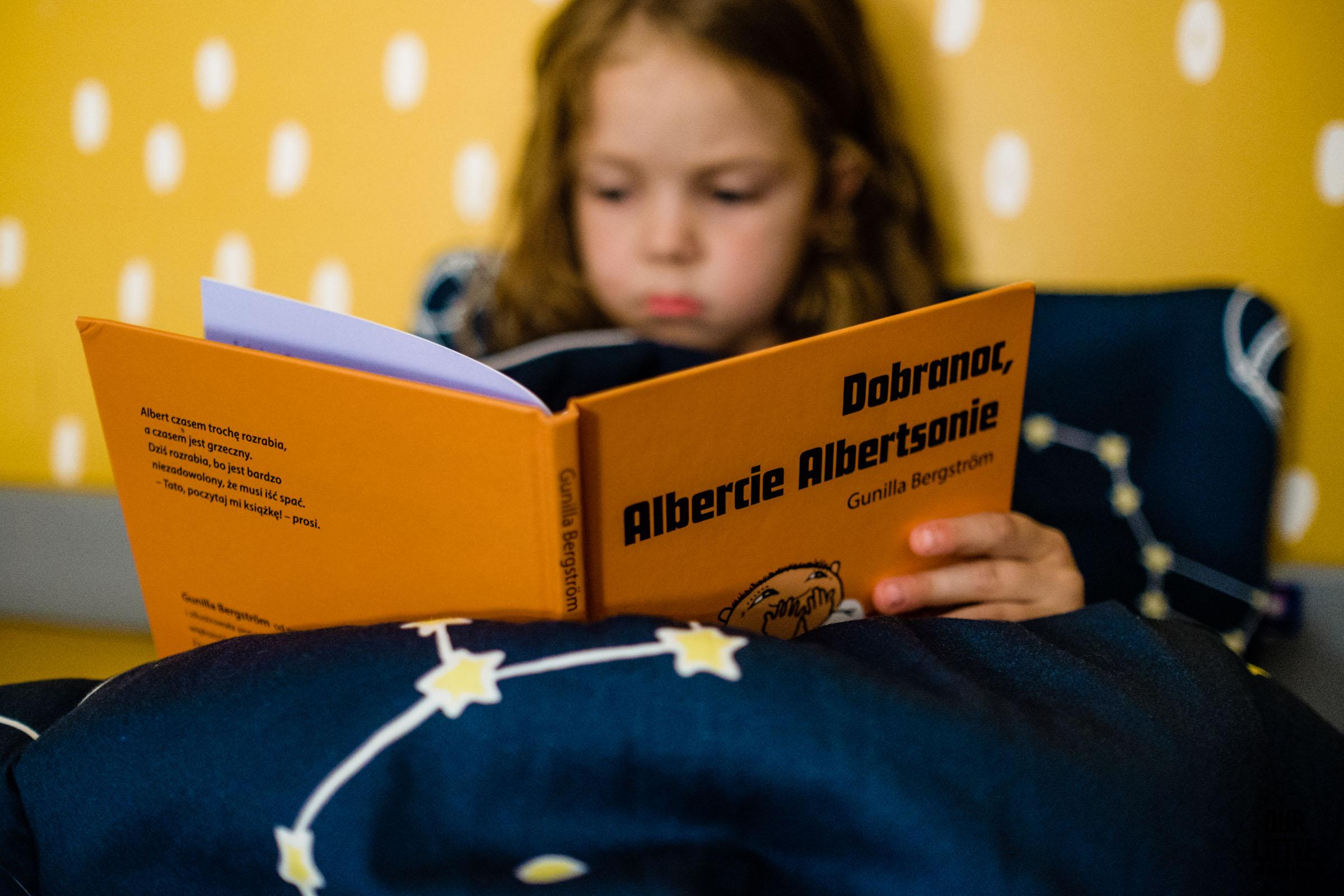 Dobranoc Albercie Albertsonie, Zakamarki, kołysanki na dobranoc, Our Little Adventures
