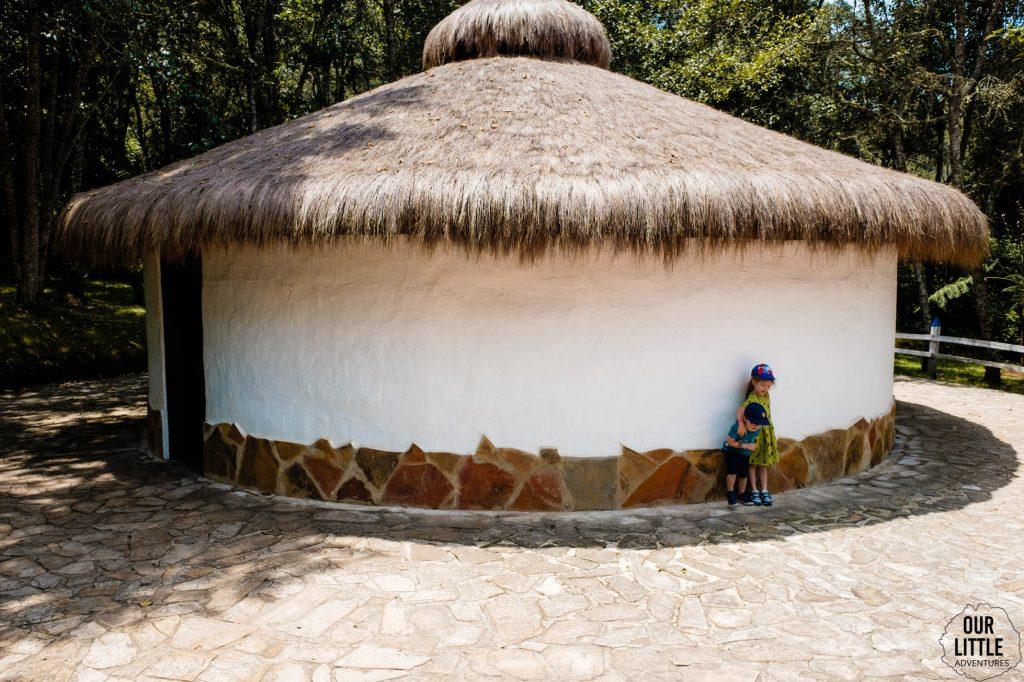Typowy budynek plemienia Muisca