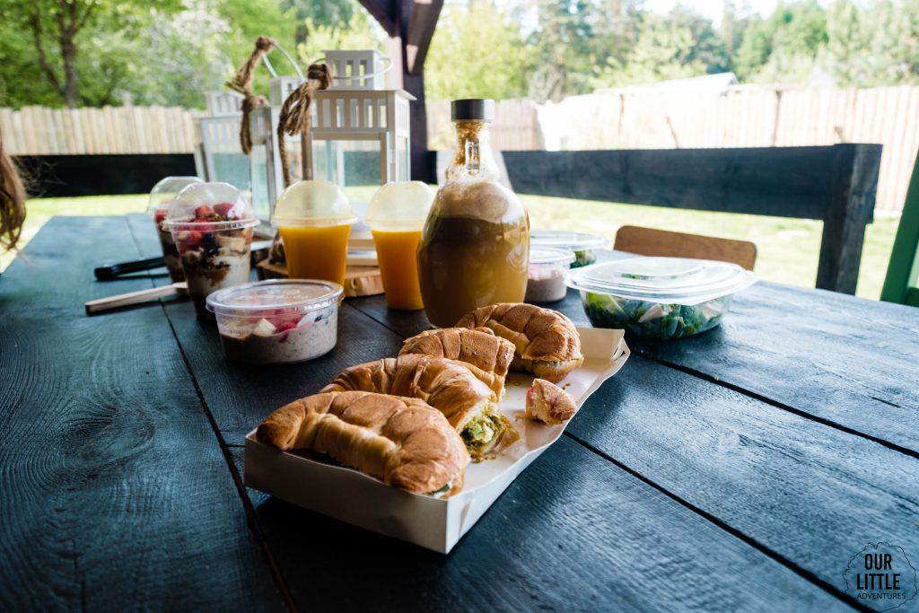 Śniadanie w Las Zielone