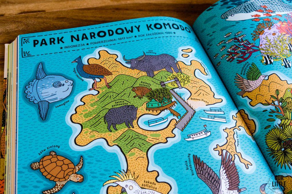 Którędy do Yellowstone? Dzika podróż po parkach narodowych, Mizielińscy, Dwie Siostry - parki narodowe dla dzieci