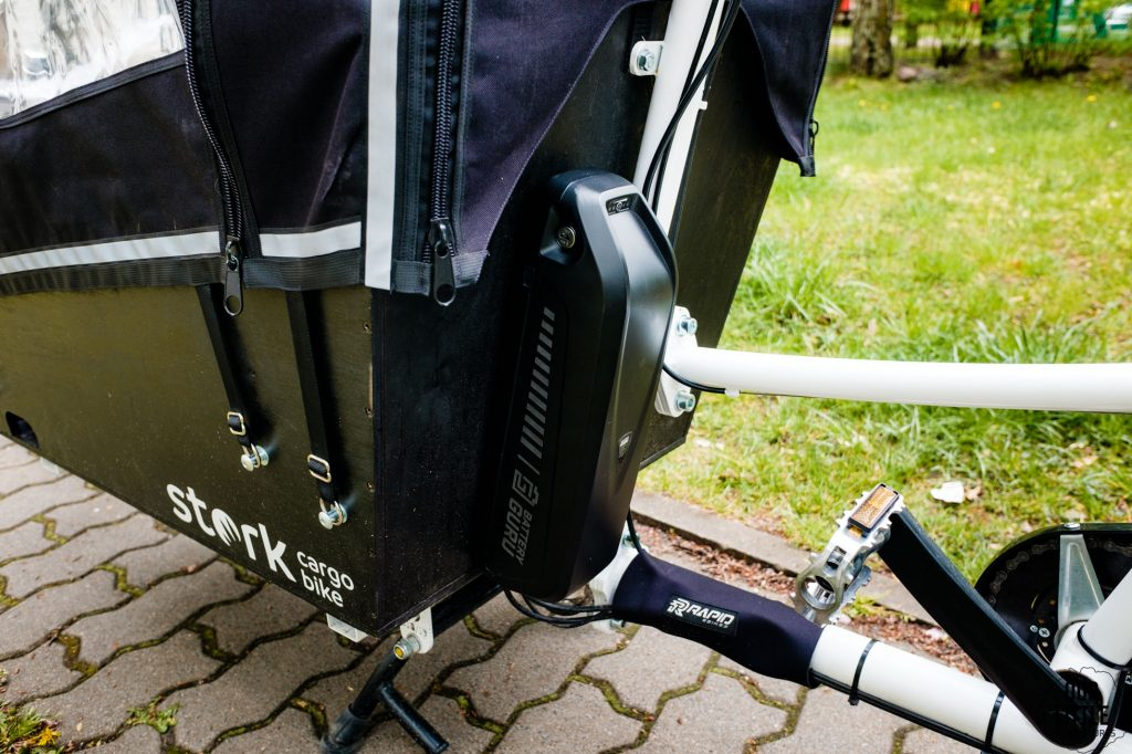 silnik elektryczny roweru Stork cargo bike