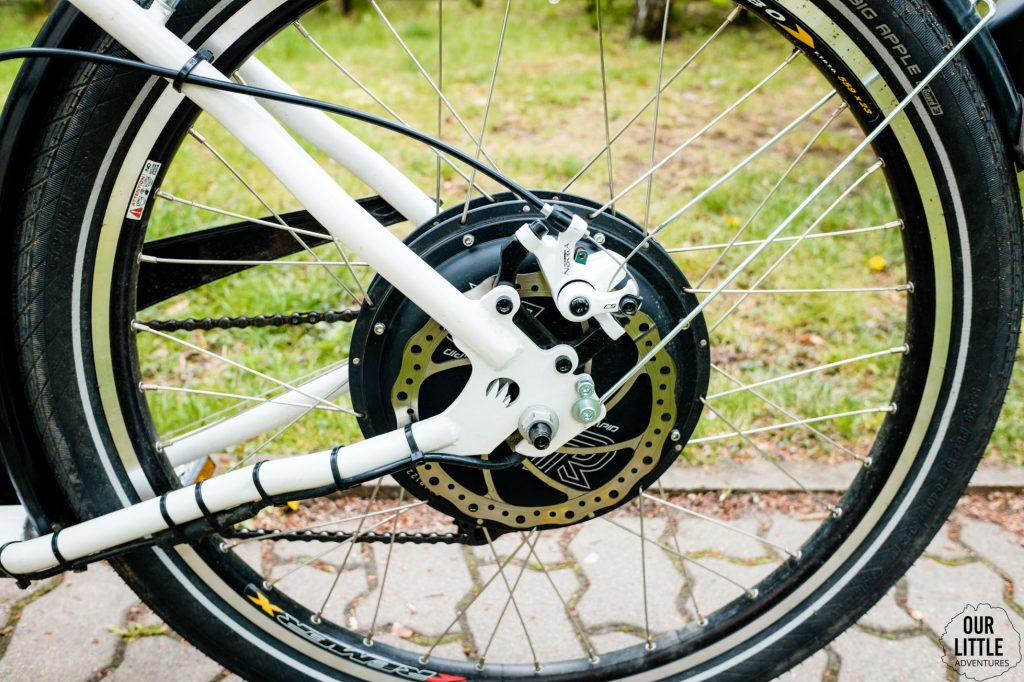 przekładnia i hamulce Stork cargo bike