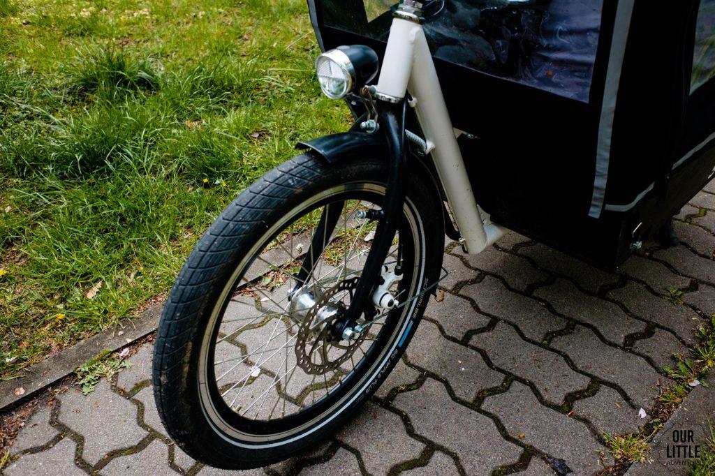 przednie koło Stork cargo bike