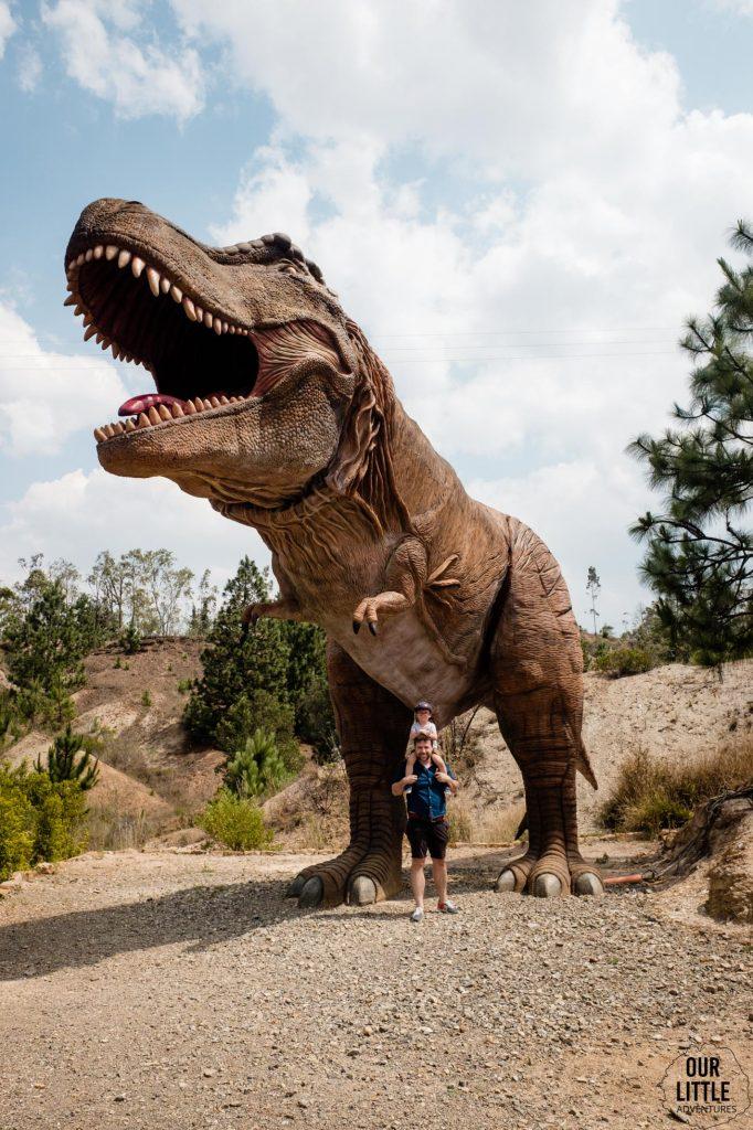 Tryanozaur w Parku Gondava