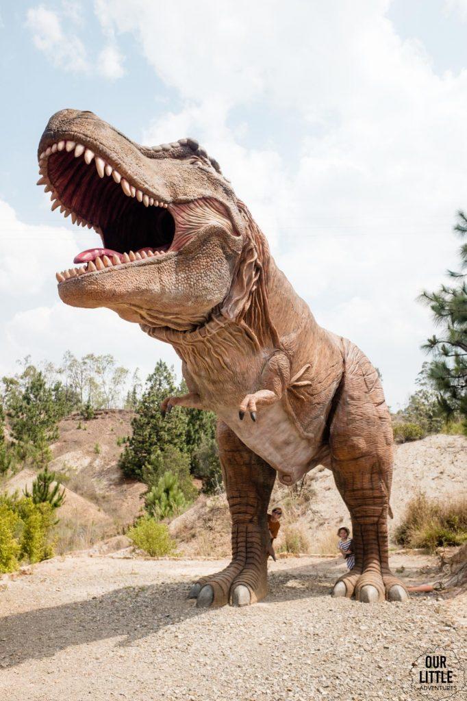 Tyranozaur w Parku Gondava