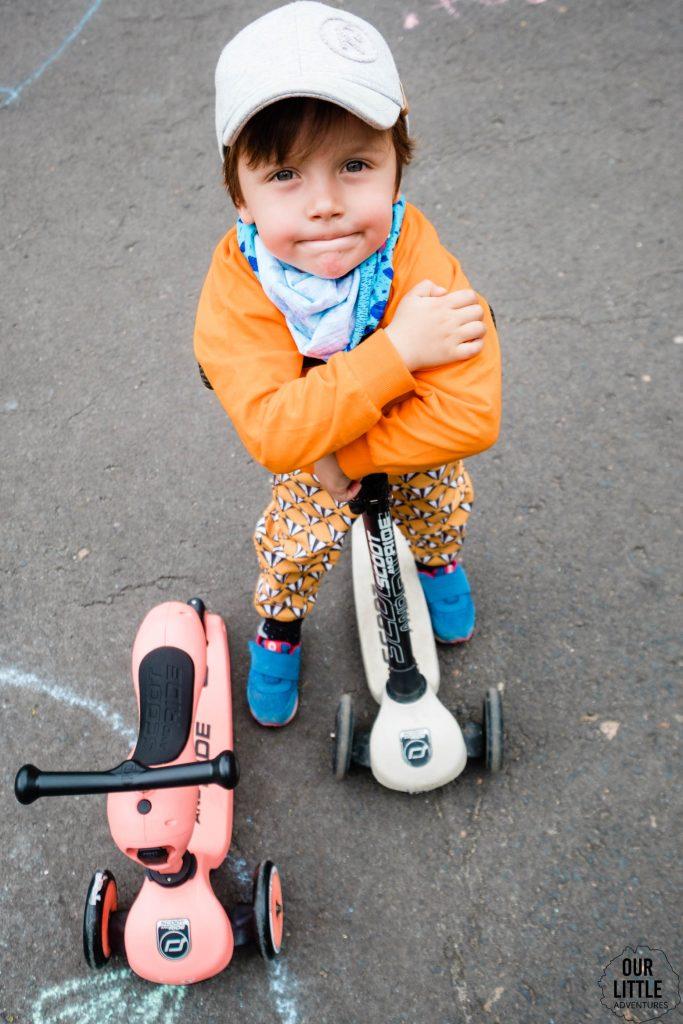 hulajnogi scoot and ride dla starszych dzieci