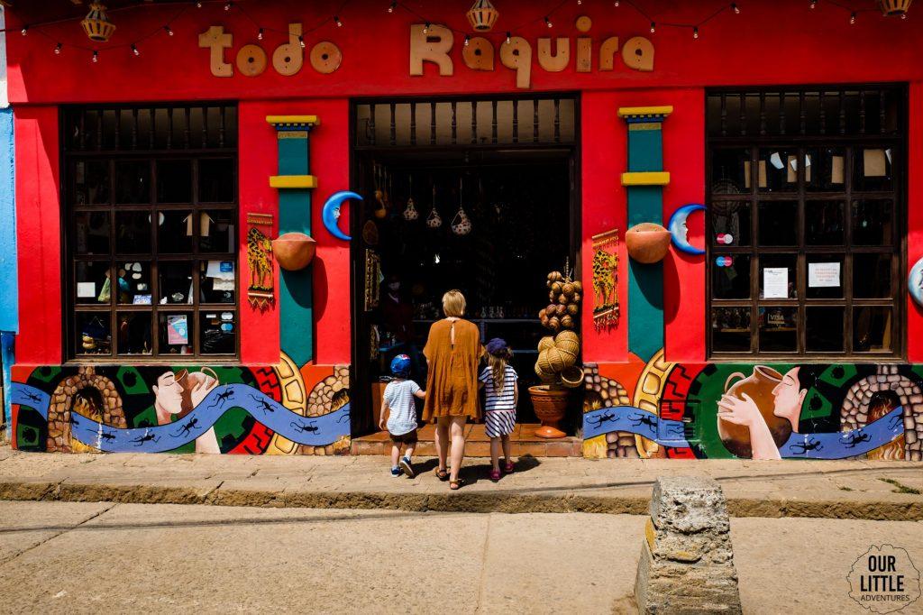 Sklep w Raquira