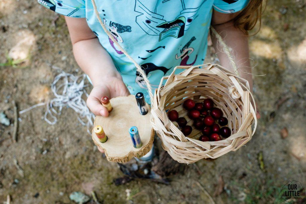 Totemy zbierane na plantacji kolumbijskiej kawy