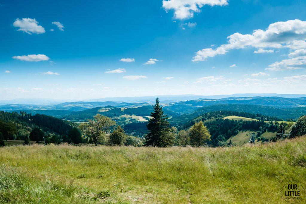 Wielka Sowa - jednodniowa wycieczka w Górach Sowich, Our Little Adventures