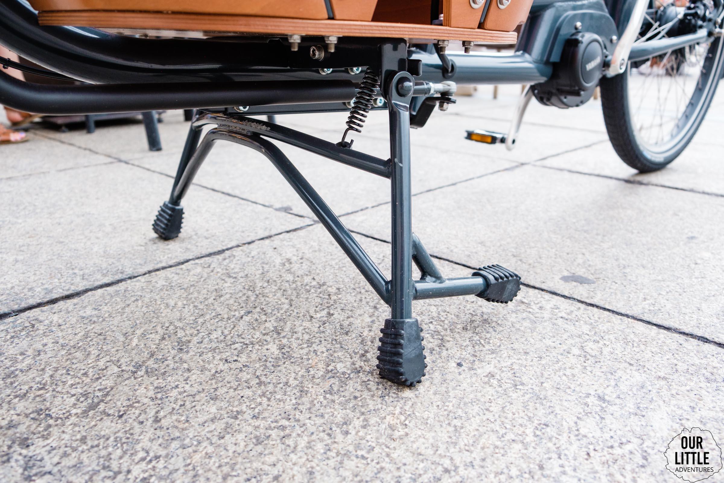 Nóżka w rowerze cargo Babboe Mini