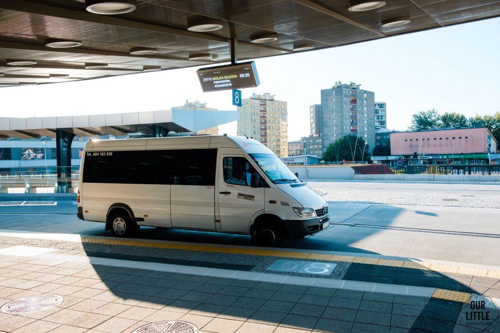 Bus do Kuźniak - dworzec autobusowy w Kielcach