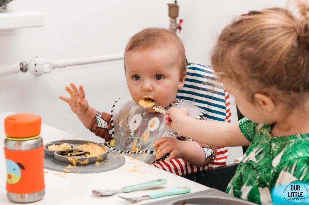 Dziecko je metodą BLW