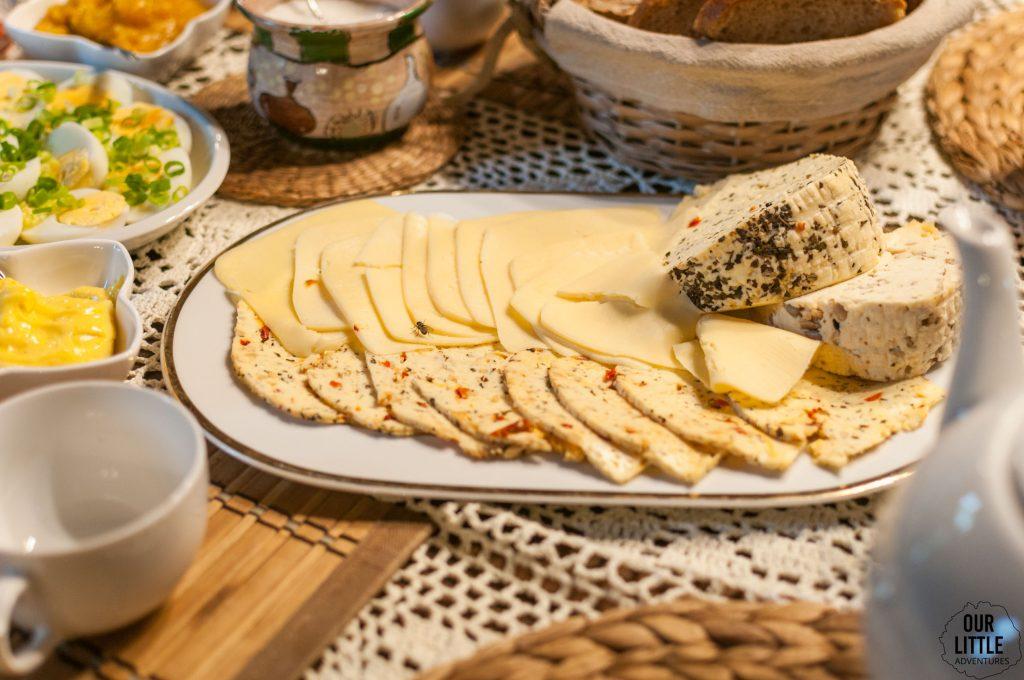 jedzenie w Domu nad Wierzbami