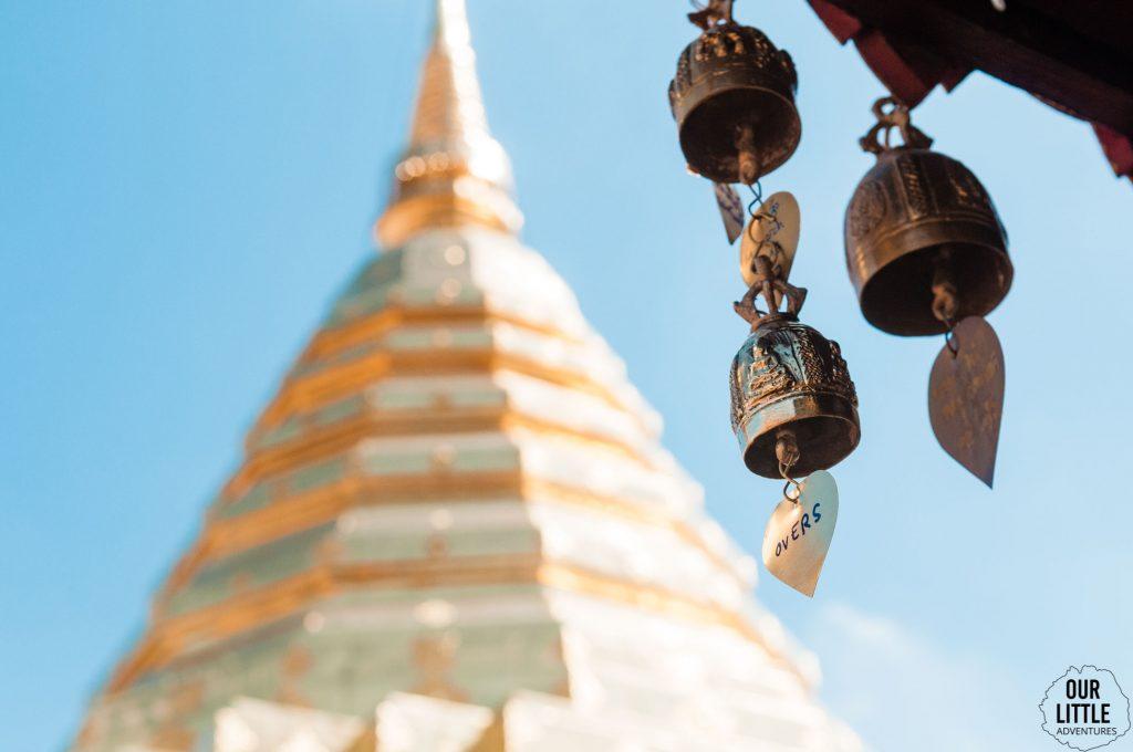 Wat Phra That Doi Suthep w okolicy Chiang Mai