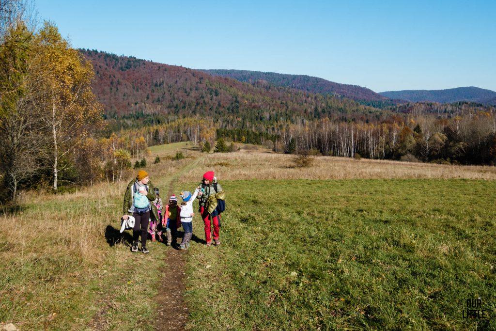 Na szlaku na Wielkie JAsło z dziećmi