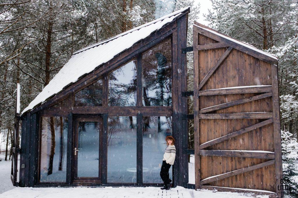 Bookworm cabin idealne miejsce na weekend bez dzieci