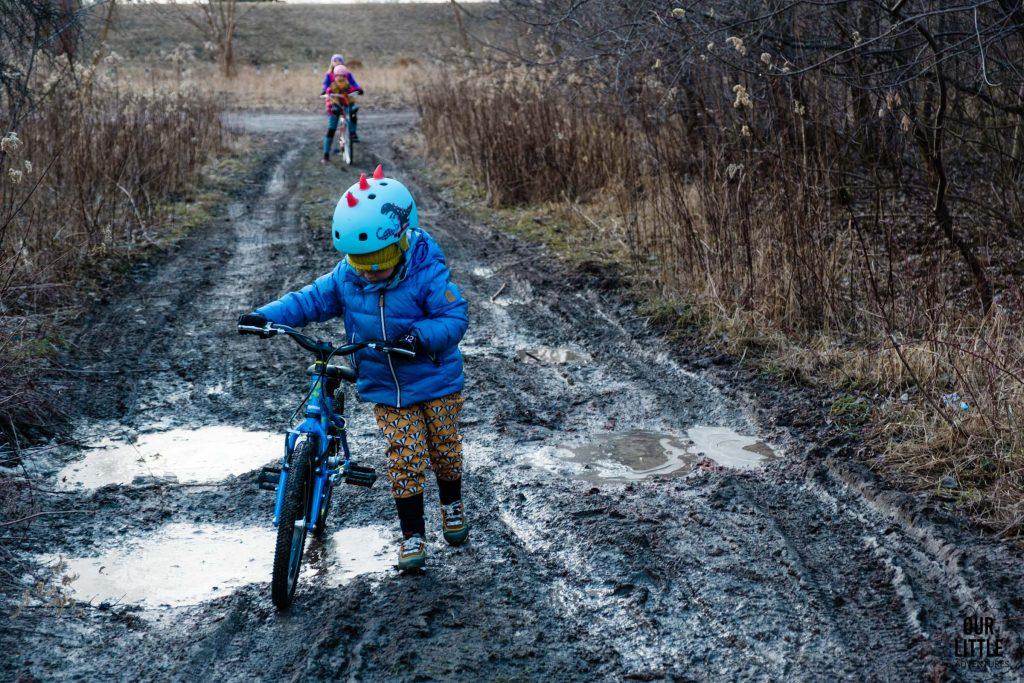 Lekki rower dla 5 latka  - Squish 18 cali - Our Little adventures