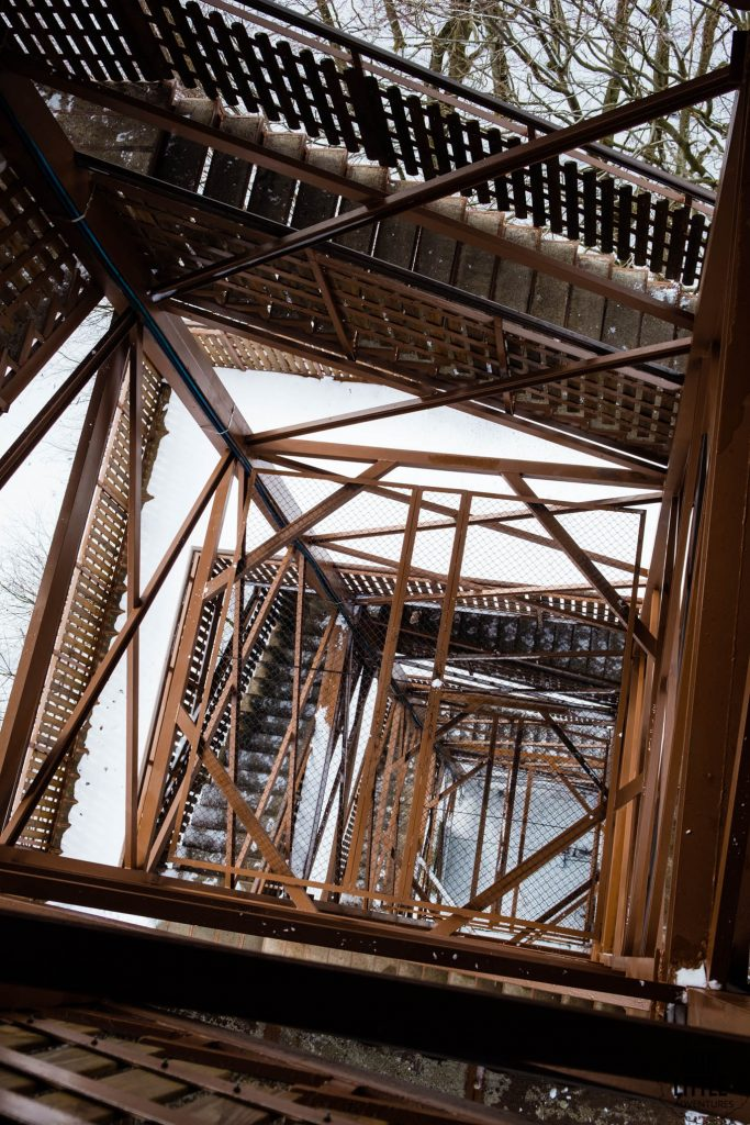 Wieża widokowa w Wieżycy na Kaszubach