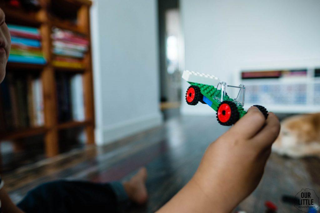 Kreatywność klocków LEGO