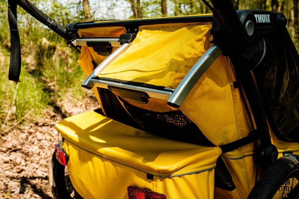 rozkładane siedzisko w przyczepce do biegania Thule Sport 2