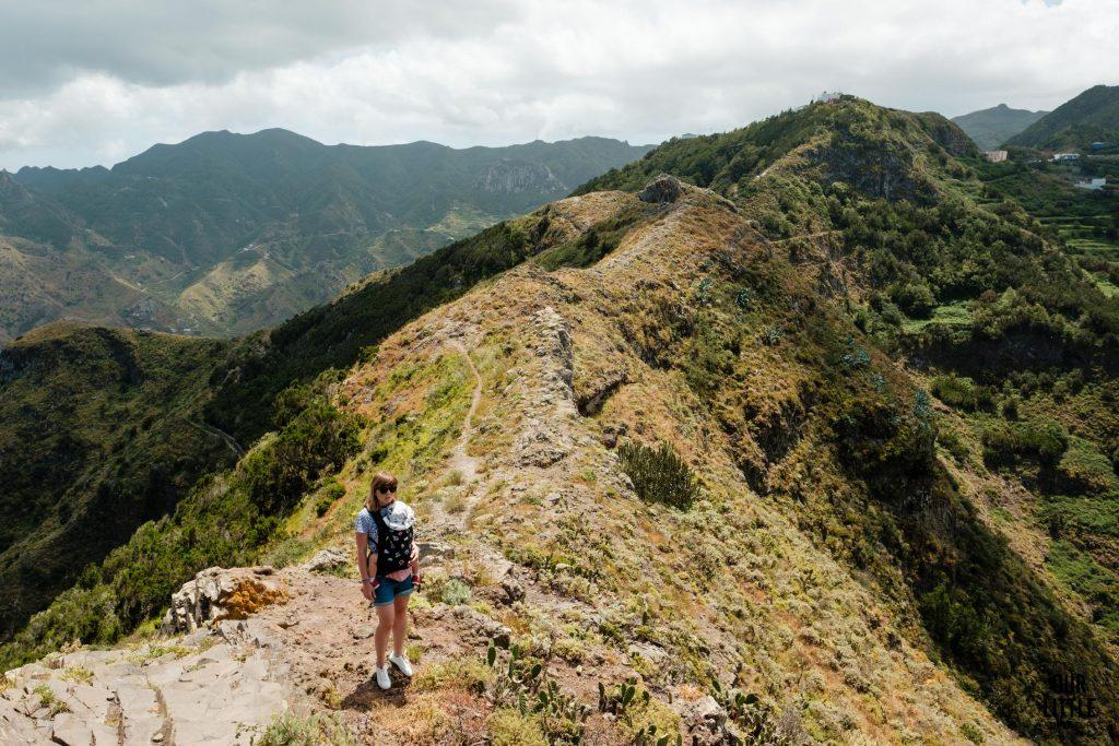 Góy Anaga Trekking Roques de Toborno Teneryfa