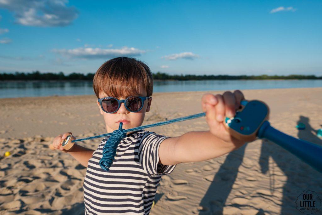 Dzień dziecka na plaży w Ciszycach