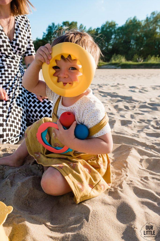 Zabawy na piasku w dzień dziecka