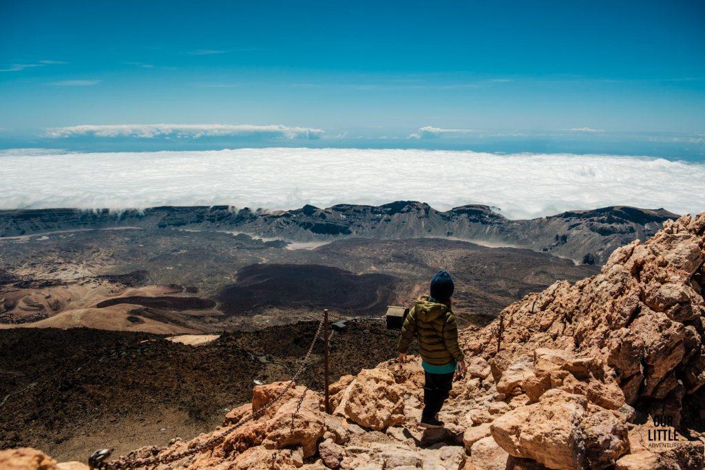 Trekking na Teide z dziećmi Teneryfa