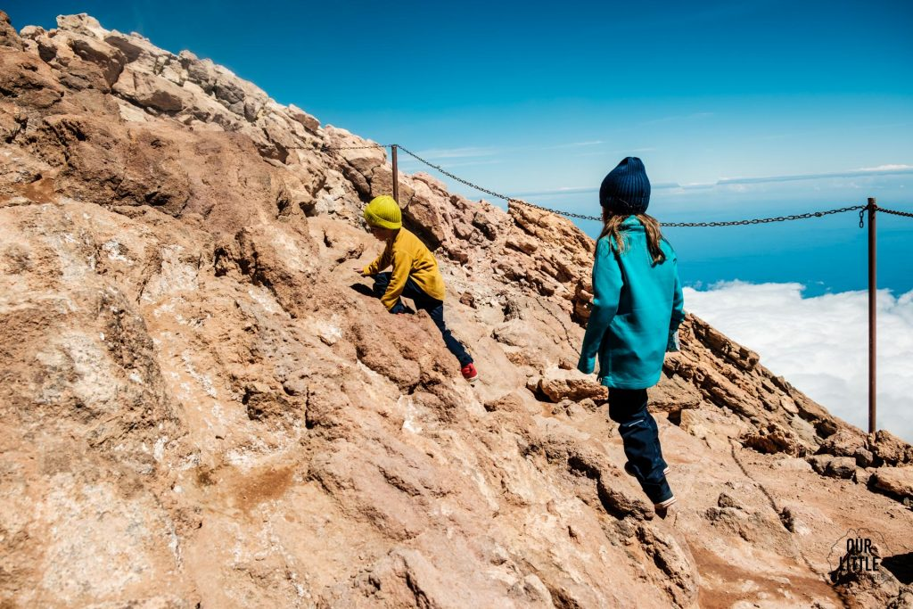 trekking z dziećmi na najwyższy szczyt Hiszpanii - el pico del Teide