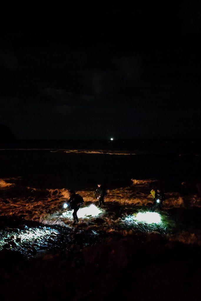nocne nurkowanie na Teneryfie