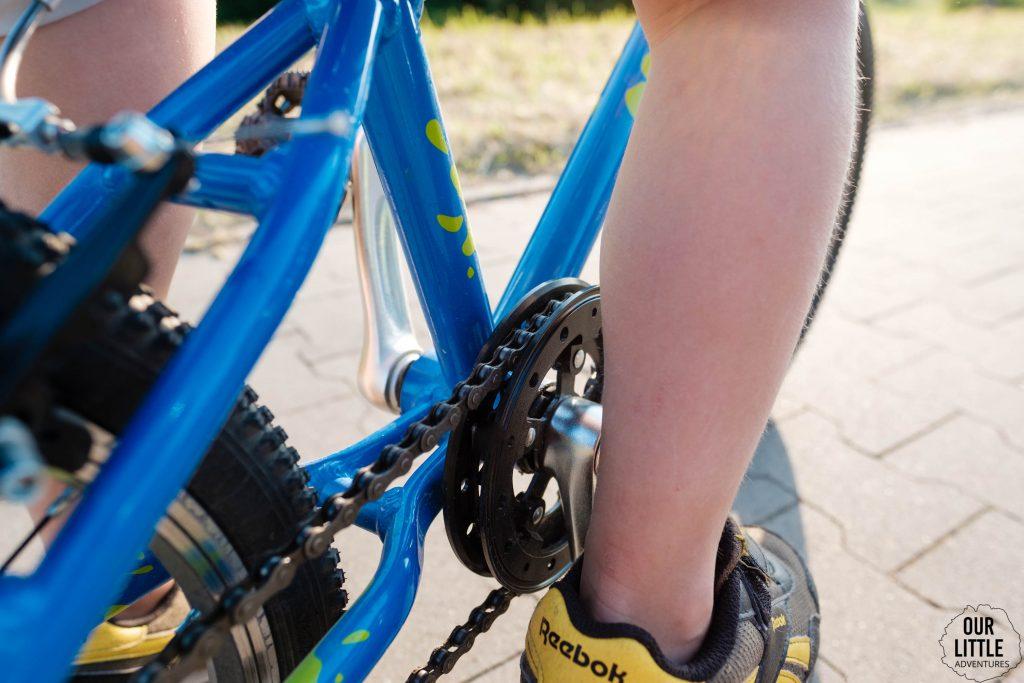 Zębatka przednia lekki rower Squish 18