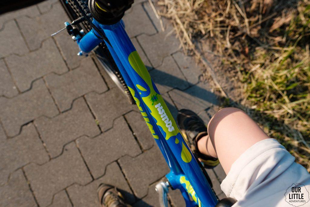 Kleksy na rowerze Squish 18 cali