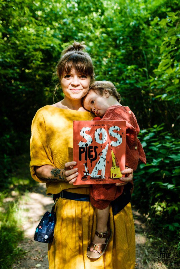 SOS Pies - nowość wydawnictwa Kropka - Our Little Adventures