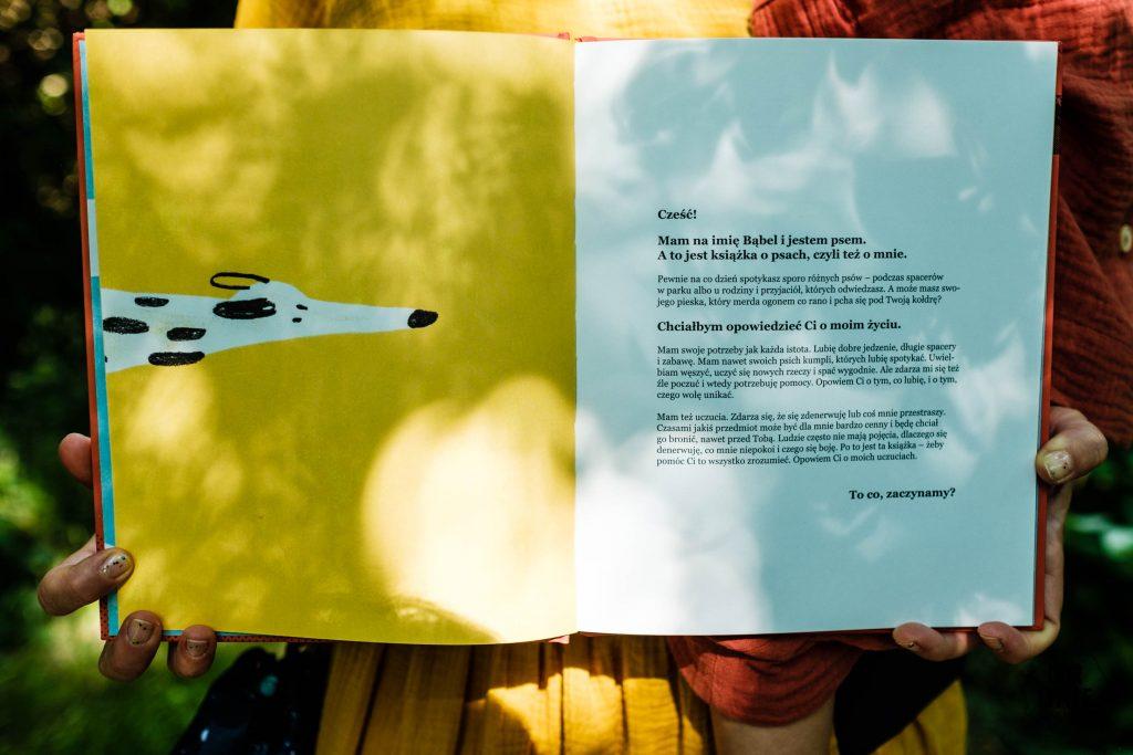 Książka SOS Pies Wydawnictwo Kropka - Jak zaopiekować się psem - Our Little Adventures