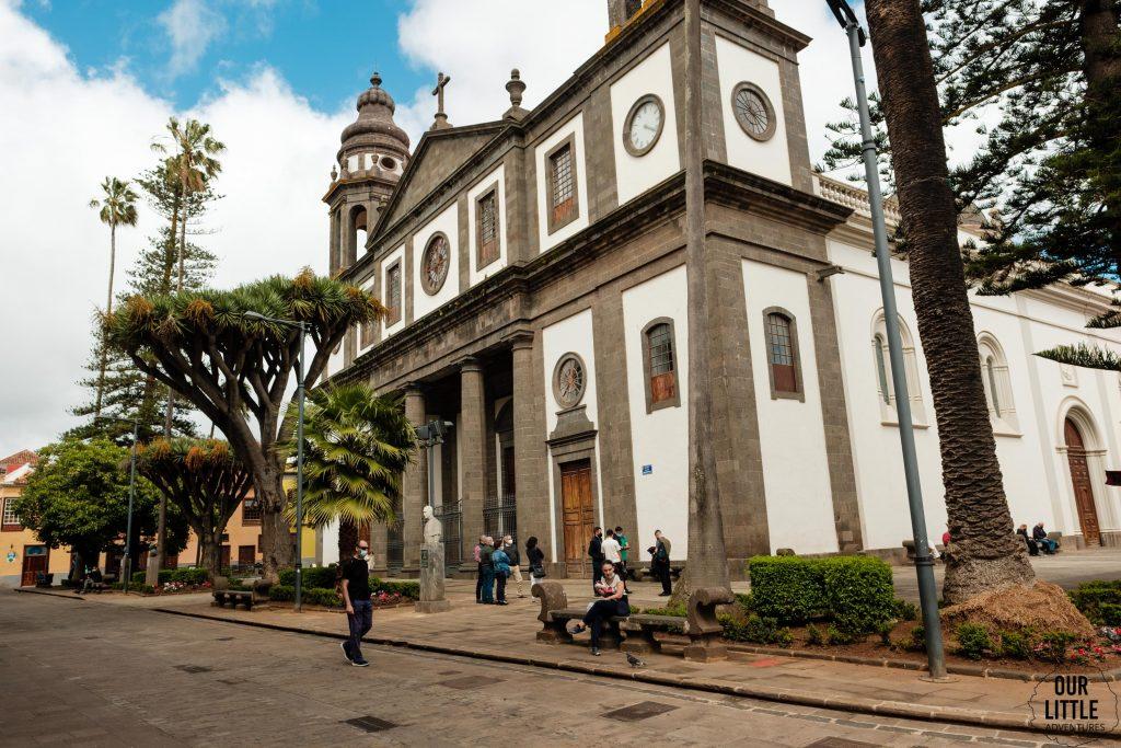 Kościół w San Cristobal de La Laguna