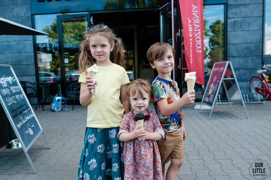 Najlepsze lody w Warszawie - nasze ulubione lodziarnie - lato 2021 - Our Little Adventures