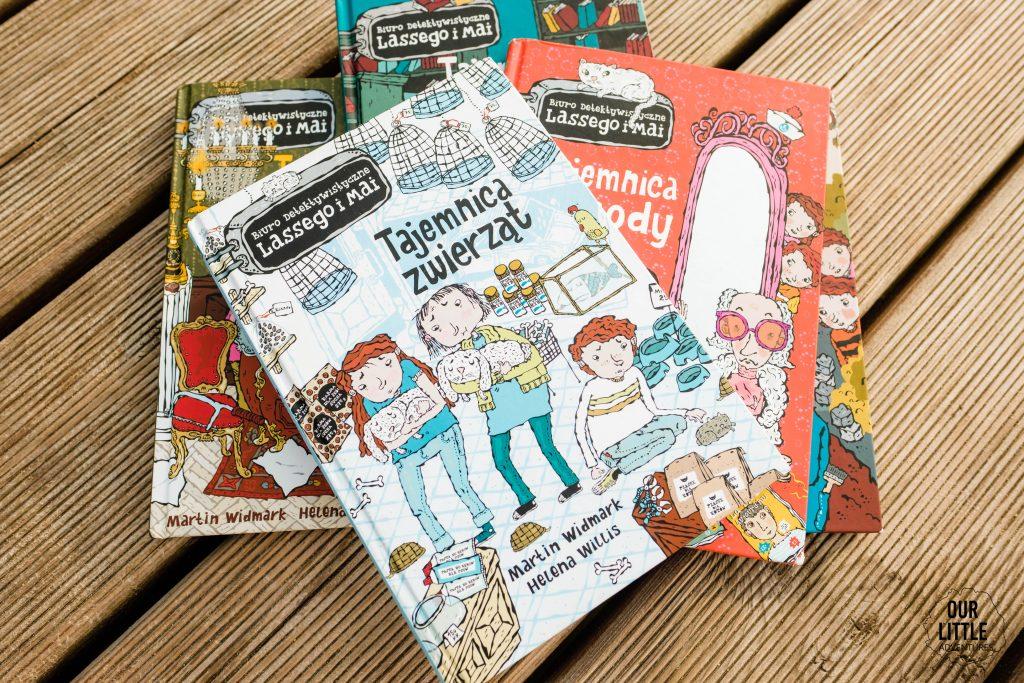 Co czytać w wakacje? Nasze ulubione książki dla dzieci na lato - Biuro detekstywistyczne Lassego i Mai- Our Little Adventures