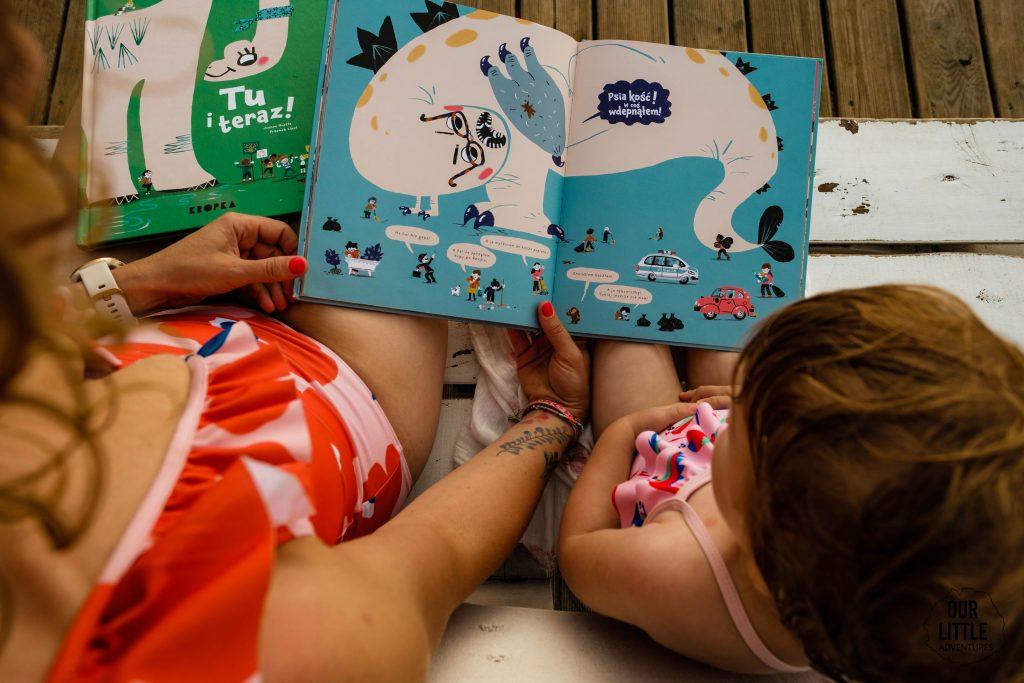 Co czytać w wakacje? Nasze ulubione książki dla dzieci na lato - Miasto potwór- Our Little Adventures