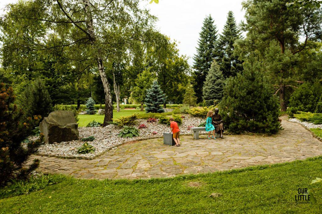 Rabka Zdrój atrakcje dla dzieci, Park Zdrojowy, Our Little Adventures