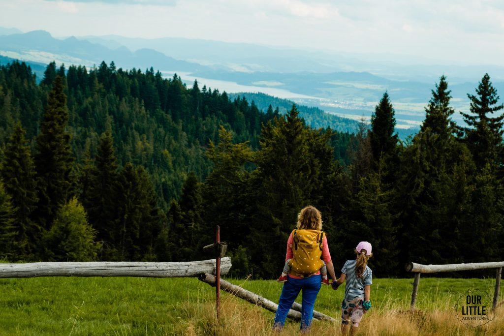 Rabka Zdrój atrakcje dla dzieci, Turbacz z dziećmi, Our Little Adventures