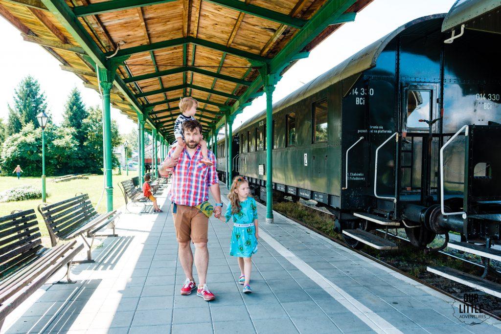 Rabka Zdrój atrakcje dla dzieci, Skansen Taboru Kolejowego w Chabówce, Our Little Adventures