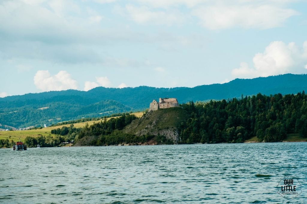 zamek w czorsztynie w drodze na velo czorsztyn