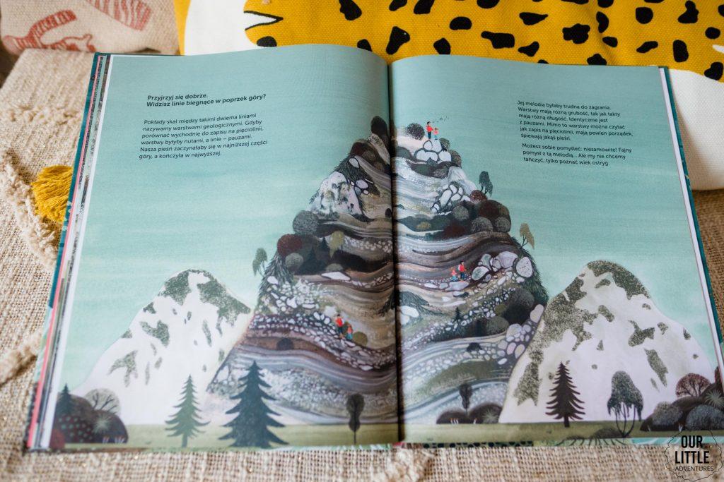 Książka Milion ostryg na szczycie góry leży na łóżku - książki obrazkowe dla dzieci Znak Emotikon, zdjęcie autorstwa OurLittleAdventures.pl